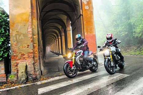 Two Way Street: MV Brutale 800 RR vs Ducati Monster 1200S | MCN | Ductalk Ducati News | Scoop.it