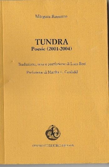 Prof. Russotto publishes the volume of poems _TUNDRA_ | The UMass Amherst Spanish & Portuguese Program Newsletter | Scoop.it
