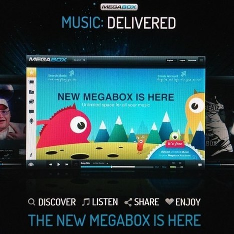 Sneak peek: This is Kim Dotcom's new Megabox service | OnlineMediaEpaper | Scoop.it