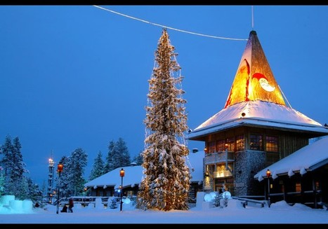 Santa Claus Village And Santa Park, Napapiiri In Lapland, Finland - John Giuffo - Forbes | Finland | Scoop.it