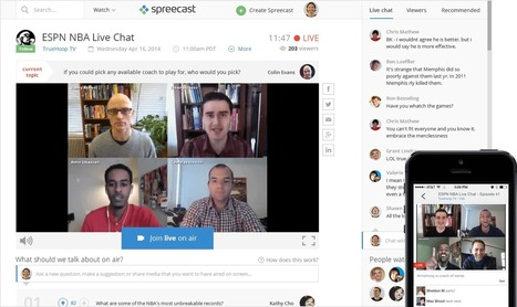 About Spreecast | Mastering Online Video | Scoop.it