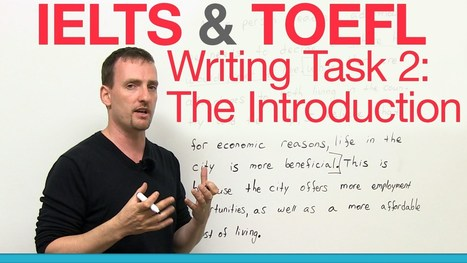 IELTS & TOEFL Writing Task 2 – The Introduction | Video English | Scoop.it