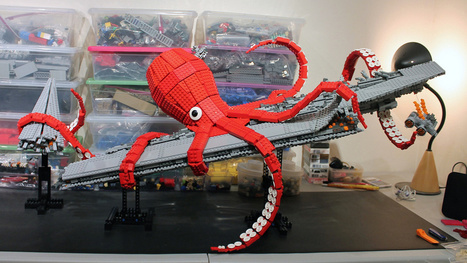 Lego Giant Kraken Destroys Darth Vader's Super Star Destroyer | Love Parenting | Scoop.it