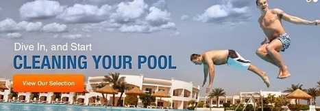 Clean a pool filter: Pool water cleaned with the help of pool supplies | something else | Scoop.it