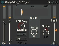 Free Max For Live -Dopplator | G-Tips: Audio Ressources | Scoop.it