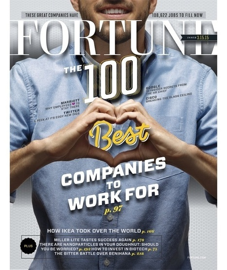 'Fortune' 100 Best Companies to Work for: Twitter No. 24, No Facebook | Social Media Useful Info | Scoop.it
