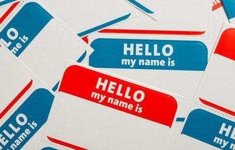 What to Do When You've Forgotten Someone's Name | Job Seekers | Scoop.it