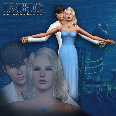IMHO sims3: 18 Poses Titanic. Heart of the Ocean by IMHO | playzoom | Scoop.it