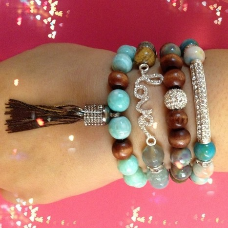 Get naughty and gorgeous with arm candy bracelets | Gemco Designs | Scoop.it