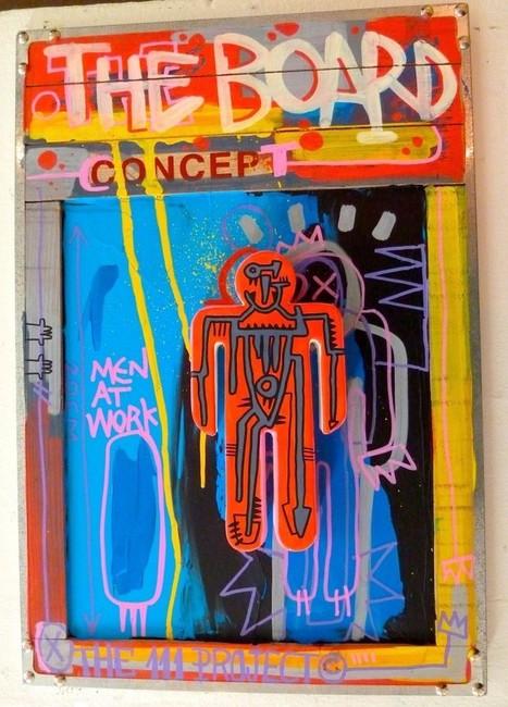 Les rencontres #Street-artistiques de Miss Acacia : Tarek, du tag à Paris Tonkar Magazine | The art of Tarek | Scoop.it