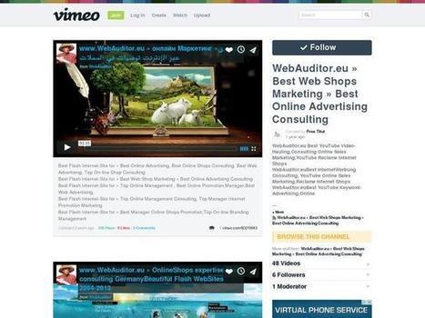 WebAuditor.eu » Best Web Shops Marketing » Best Online Advertising Consulting on Vimeo on Best Web Advertising | Best Online Shop Top Search Marketing | Scoop.it