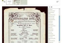 New York Public Library to archive every menu since 1840  | Information Science | Scoop.it
