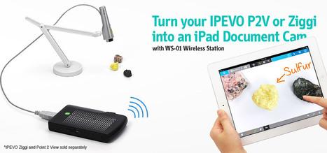 IPEVO WS-01 Wireless Station for iPad and USB Document Cameras | IPEVO Online Store | www.ipevo.com | iPadsAndEducation | Scoop.it