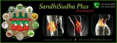 Sandhi Sudha Plus™ – Herbal Joint Pain Relief Treatment for Ankle, Back, Shoulder, Knee, Elbow, Body Pain | Sandhi Sudha Plus - Joint Pain Relief Oil | Scoop.it