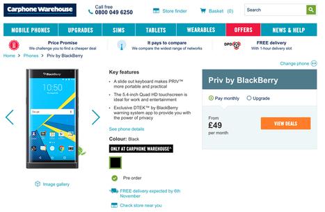 BlackBerry Priv : vidéos, spécifications et précommande | Addicts à Blackberry 10 | Scoop.it