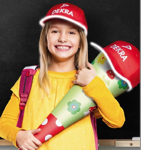 Hunderttausende Schulanfänger sind dank signalroter Kappen sicherer unterwegs - Kinderartikel - Ein Blick auf Produktneuheiten | 123Bambini | Kinderartikel | Scoop.it