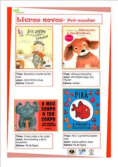 Bibliotecas Escolares AE de Trancoso: Livros novos | Pelas bibliotecas escolares | Scoop.it