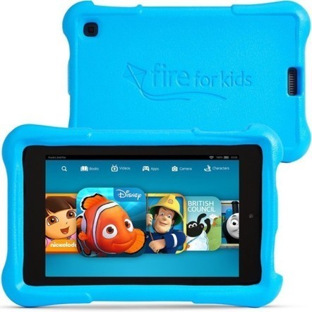 Amazon's £119 Fire tablet for kids arrives in the UK on June 18 | Learning Happens Everywhere! | Scoop.it