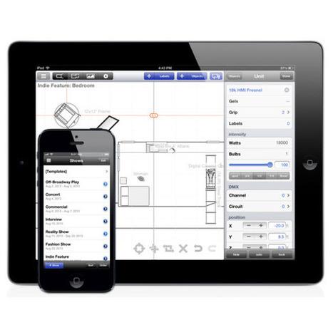 Lighting Designer App for iPad   Backpack Filmmaker   Scoop.it