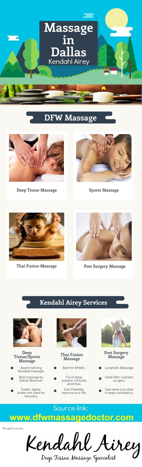 Massage in Dallas – Kendahl Airey   Healthy Fitness Life   Scoop.it