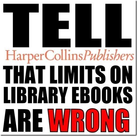 Pétition anti-DRM HarperCollins - Change.org | bibliotheques, de l'air | Scoop.it