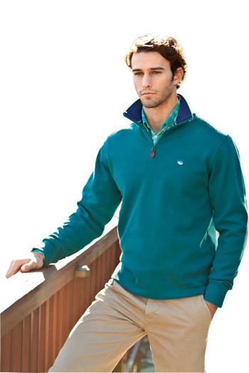 Quarter Zip Pullover - Buy Quarter-Zip Mock Neck Pullover | Fantastic style of black vest top | Scoop.it
