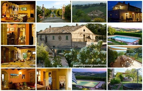 Best Le Marche Accommodations: Villa Pomegranate, Ponzano di Fermo | Le Marche Properties and Accommodation | Scoop.it