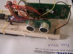 Mesure de distances avec un capteur ultrason et un Arduino | Les chroniques hertziennes par XV4Y | TPE 1S1 2013-2014 | Scoop.it