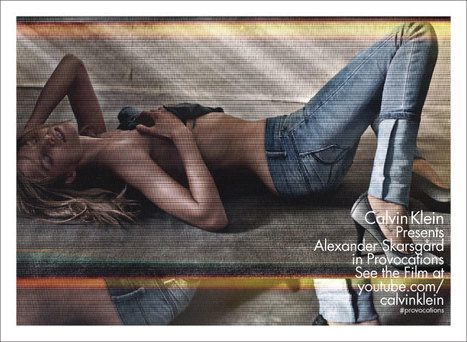 Alexander Skarsgard Calvin Klein'in provoke edici moda filminin başrollerinde   Fashion Films   Scoop.it