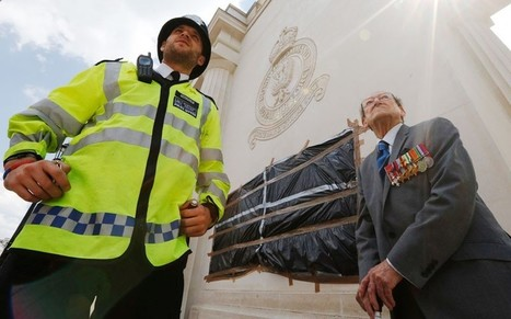 War memorial vandalised in wake of terror murder - Telegraph   The Indigenous Uprising of the British Isles   Scoop.it