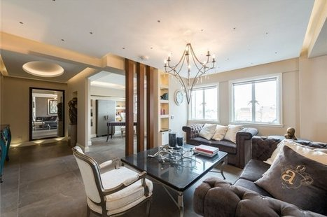 Flat for sale in Chiltern Court, Baker Street, London, NW1 | Sandfords | Primrose Hill Property | Scoop.it