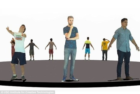 Create personal avatars by scanning real people | 3D Virtual-Real Worlds: Ed Tech | Scoop.it