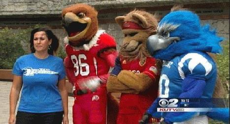 Pay It Forward:  Mascots Team Up to Fight Cancer | KUTV.com | New At Alinco | Scoop.it