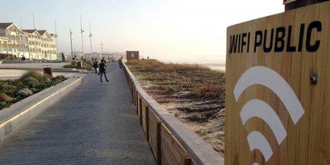 Landes : du Wifi sur les plages   Vacances dans les Landes   Scoop.it