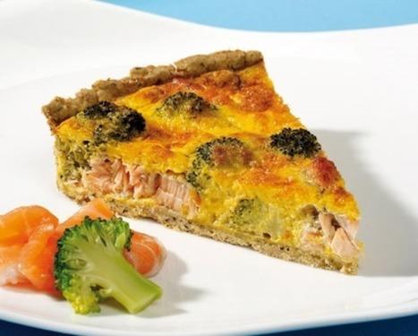 Quiche sans gluten au brocoli et saumon | Forme physique 2 | Scoop.it