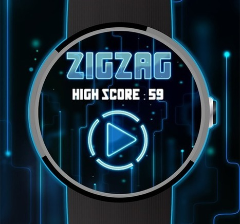 ZigZag-Android Wear | Best Android Game for Smart Watch | Islamic Wallpapers and Android Games | Scoop.it