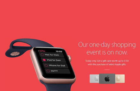 Apple's Black Friday Deal: Gift Cards Available Only on Old Products | All About Apple iPhone,Mac Book,Apple Watch | Scoop.it