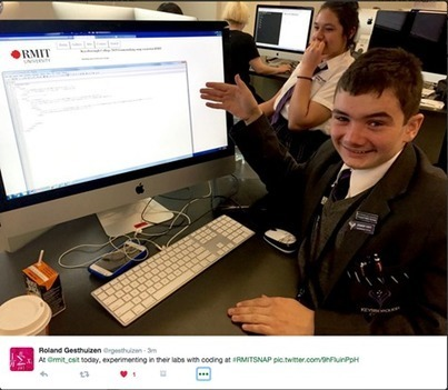 RMIT hosts Keysborough College for a Computer Science Taster of uni life | RMIT Computer Science & IT - tech news and ICT updates | Scoop.it