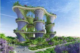 Hypérion, les immeubles écolo de demain | Jardins urbains | Scoop.it