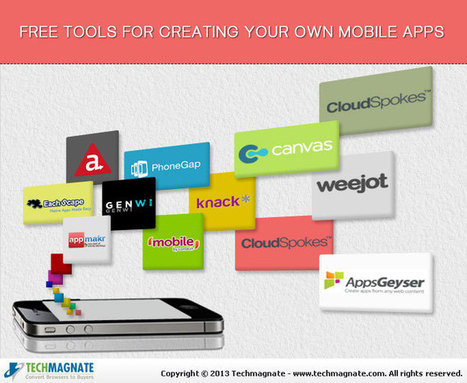 Mobile Apps- Free Tools to Build Your Own Apps   IT English   Scoop.it