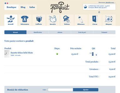 15 Exemples de Pages Paniers pour Votre E-Commerce | WebZine E-Commerce &  E-Marketing - Alexandre Kuhn | Scoop.it