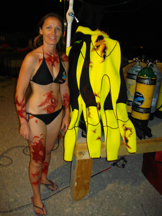 Scuba Diver Dream Job: Hollywood Stunts with Szilvia Gogh | All about water, the oceans, environmental issues | Scoop.it