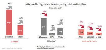 E-pub : le digital devient le 2e media en France, devant la presse | Actu des médias | Scoop.it