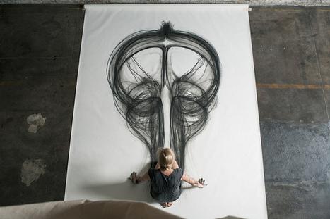 "Heather Hansen's ""Emptied Gestures"" Combines Drawing with Performance   Culture and Fun - Art   Scoop.it"