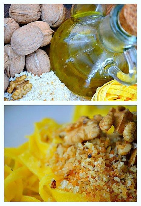 Tagliatelle con le noci | Le Marche and Food | Scoop.it
