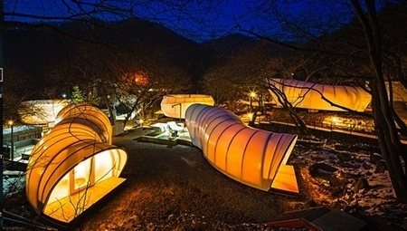 South Korean 'glampsite' boasts worm-shaped tents with toilets - Mother Nature Network (blog) | Experience Economy | Scoop.it