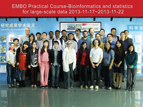 EMBO Practical Course-Bioinformatics and Statistics for Large-scale Data | Bing Bai | Scoop.it