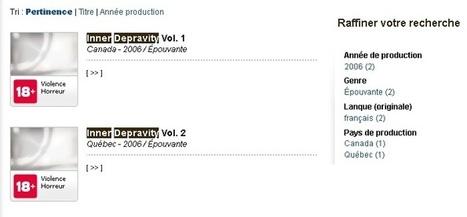 Les courts-métrages de Rémy Couture finalement évalués par la Régie du cinéma | Archivance - Miscellanées | Scoop.it