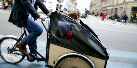 La France gagnée par la vogue des « vélos-cargos » | triporteur | Scoop.it