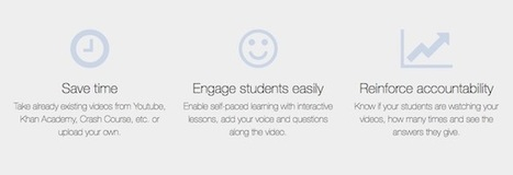 Easily Turn Video into Engaging Lessons with EDpuzzle via Clif Mims | Rapid eLearning | Scoop.it